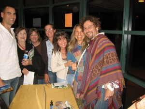 Jason, Kay, Jackie, Sarah, Kathy, Me and David Wolfe