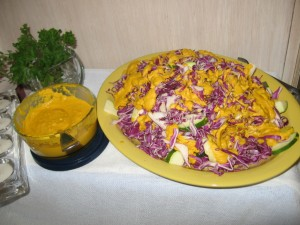 d'Adjoa's Cabbage Salad