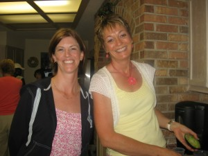 Pam and Karen. Pam was the guest speaker that night. Thank you for your testimony Pam. You are a ray of light.