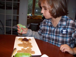 Matthew Kenney Dec 2009 and Christmas Cookies 020